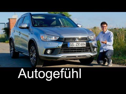 Mitsubishi ASX / Outlander Sport Facelift FULL REVIEW 2017/2018 – Autogefuhl