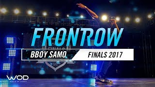 Bboy SAMO | Headbangerz Brawl Judge Showcase | World of Dance Finals 2017 | #WODFINALS17