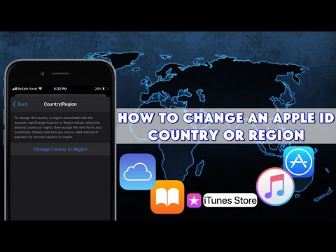 How To Change An Apple ID Country or Region - [romshillzz]