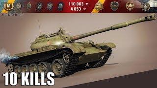 Танк Т-54 лучший СТ 9 уровня 🌟 карта: Виндсторм 🌟 World of Tanks лучший бой wot t-54