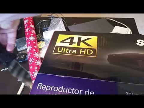 Sanyo 4k blu ray dvd player $50-70 CHEAPEST PRICE ANYWHERE!! Unboxing video, Walmart FWBP807FP uhd