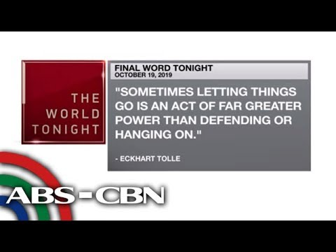 [ABS-CBN]  Final Word – October 19, 2019 | ANC