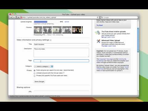 How To Upload Videos To YouTube (For Beginners)