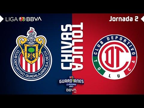 Resumen y Goles | Chivas vs Toluca | Liga BBVA MX – Guard1anes 2021 – Jornada 2