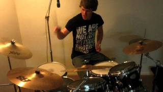 Nathan Donnelly // Caves - Chiodos (Drum Cover)