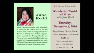 Prime Time Call with June Rodil