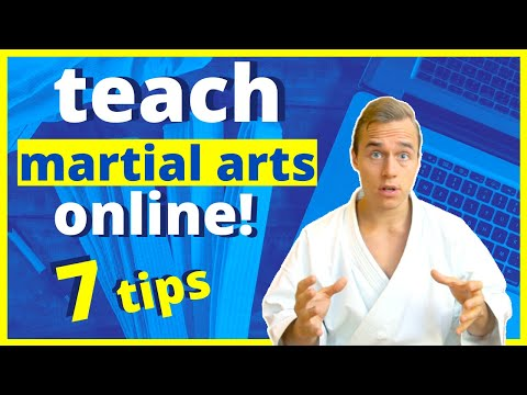 How To Teach Awesome Online Martial Arts Classes