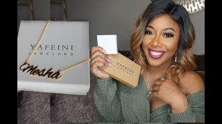 Boujee On A Budget | Custom Nameplate Necklace | Yafeini Jewelry