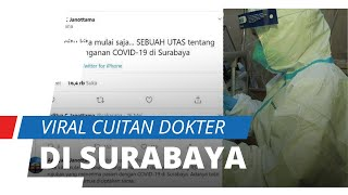 Viral di Medsos, Cuitan Dokter di RS Royal Surabaya tentang Bobroknya Penanganan Corona di Daerahnya