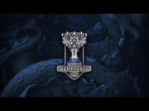 SK telecom T1 ( SKT ) vs Royal Never Give Up ( RNG ) - Worlds 2017 Yarı Final