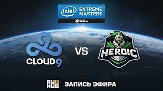 Cloud9 vs Heroic - IEM Katowice - Group B - de_cobblestone [ceh9, CrystalMay]