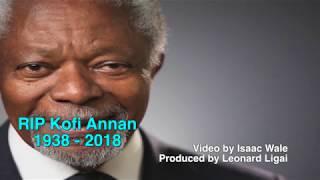 World mourns loss of Kofi Annan - VIDEO