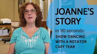 Joanne's Story: Show Dancing with a Rotator Cuff Tear