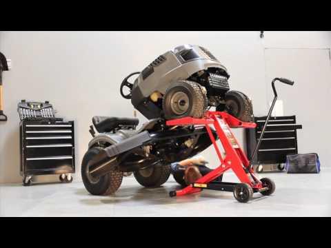 Mojack Mojack Hdl Hydraulic Riding Lawn Mower Lift