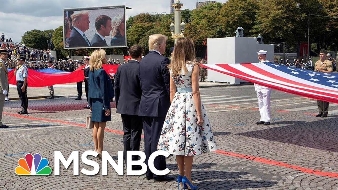 President Donald Trump's Military Parade: Celebration Or Waste Of Money? | MSNBC thumbnail