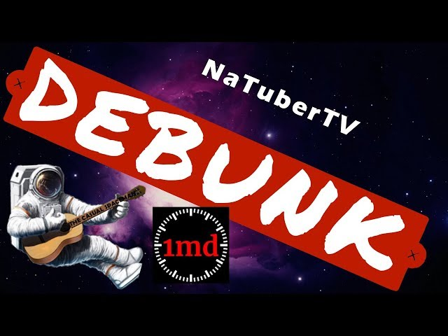 Natuber TV dishonesty and Idiocy FEAT. One Minute Debunk