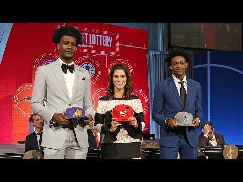 Suns Win 1st Pick In NBA Draft Lottery 2018   May 15, 2018