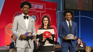 Suns Win 1st Pick In NBA Draft Lottery 2018   May 15, 2018 - Video Youtube