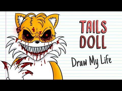 TAILS DOLL   Draw My Life   Creepypasta