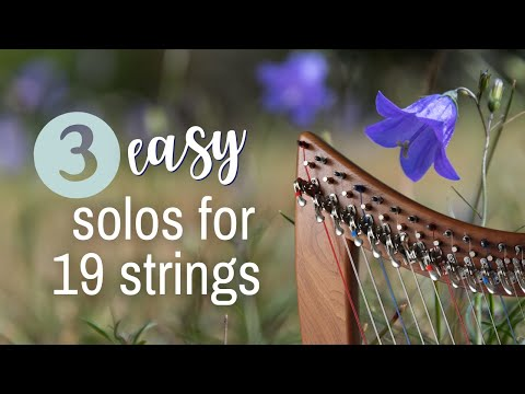 3 easy solos for your small harp