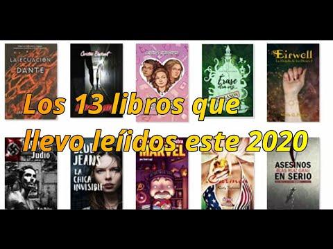 13 libros que llevo leídos este 2020