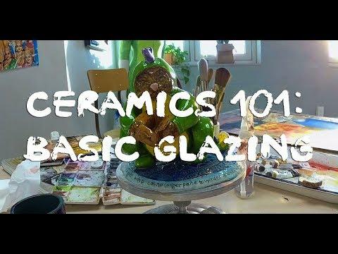 Ceramics 101: Basic Glazing Techniques