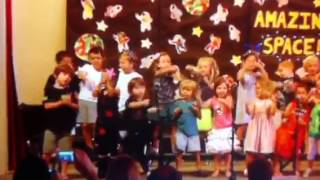 Hickman Music School sings Space by Spaghetti Eddie.