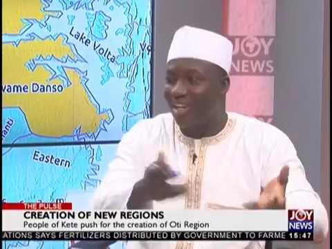 Creation of New Regions - The Pulse on JoyNews (14-11-18)