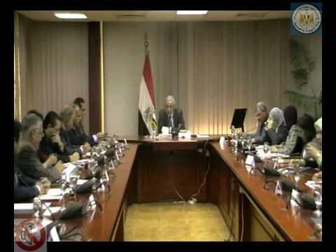 اجتماعين للوزير/طارق قابيل مع عدد من رؤساء المجالس التصديرية و شركات ضمان مخاطر الصادرات