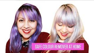 HOW TO REMOVE SEMI PERMANENT HAIR DYE - no bleach