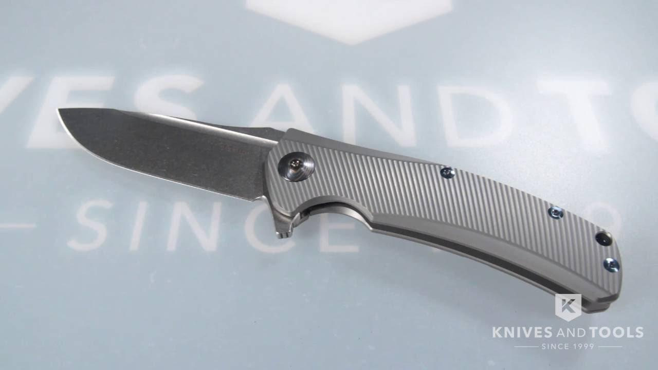 Reate Horizon-Ti pocket knife, titanium | Advantageously shopping at ...