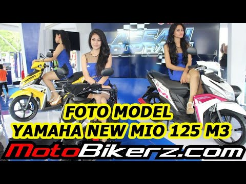 Foto Model & Yamaha New Mio 125 M3