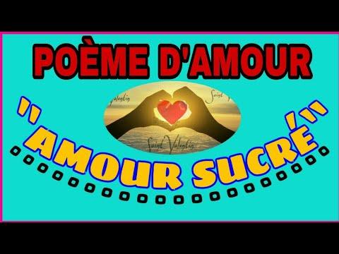 Amour Sucré Poème Damour Vidéo Becha Power
