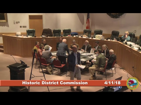 Historic District Commission 4.11.18