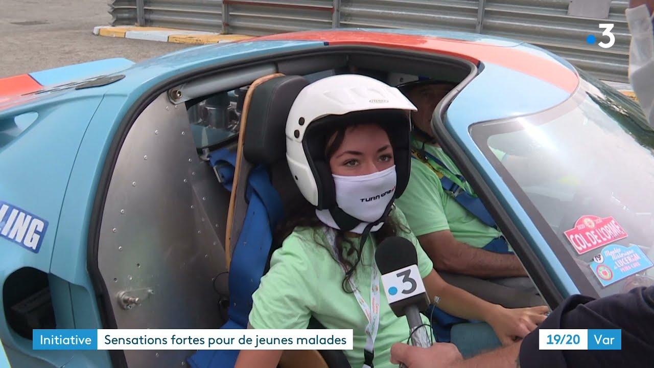 Le Luc-en-Provence : tours de piste pour les enfants malades sur le circuit