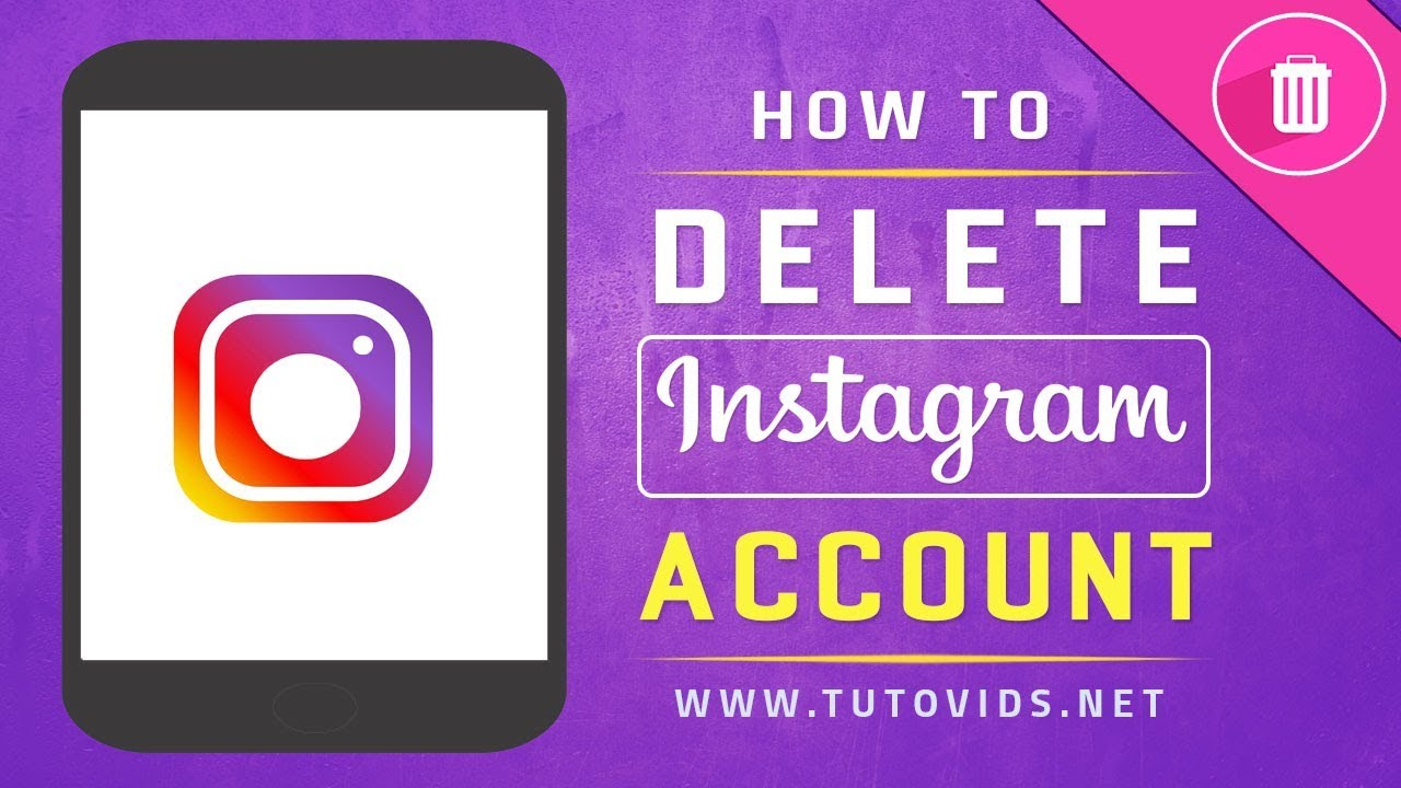 How To Delete Instagram Account [2018]
