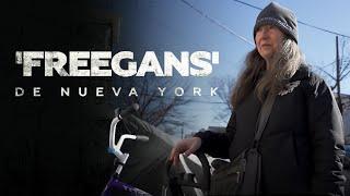 """NEW YORK, """"FREEGANS"""" RECUPERAN ALIMENTOS PARA LOS POBRES"""