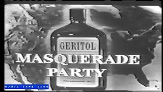 Masquerade Party - May 2nd, 1956 - W/O/C