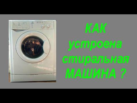 Как устроена современная стиральная машина автомат? Основные узлы, назначение, работа.