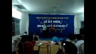 preview picture of video 'Thủy Điện Chiêm Hóa Giao lưu văn nghệ 8.3.2012_Nguyễn Tiến Dũng'