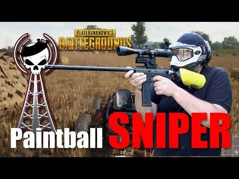 Paintball Sniper als Playerunknown´s Battlegrounds Edition