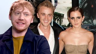 Rupert Grint On Sparks Between Emma Watson And Tom Felton During Harry Potter (Exclusive)