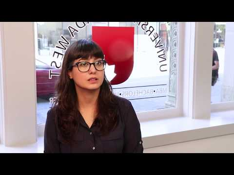 UCW MBA student from Iran discusses her new university
