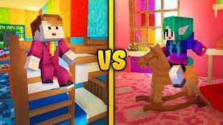 PRZEDSZKOLE DZIEWCZYNA VS CHŁOPAK - Minecraft | CZOKLET VS GAENALI