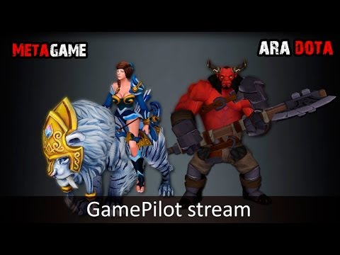MetaGame + Ara Dota GamePilot Stream 03.03 часть 1