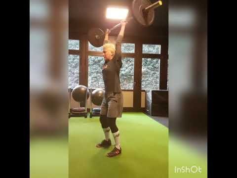 Barbell Hang Power Snatch