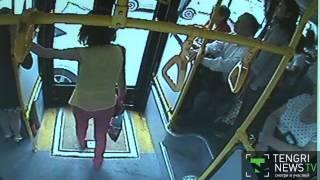 Что фиксируют камеры видеонаблюдения в общественном транспорте Алматы