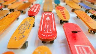 THE OLDEST SKATEBOARDS IN EXISTENCE