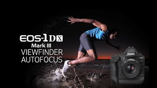 Video 2 of Product Canon EOS-1DX Mark III Full-Frame DSLR Camera