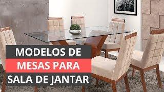 TIPOS DE MESA PARA SALA DE JANTAR - MODELOS INCRÍVEIS